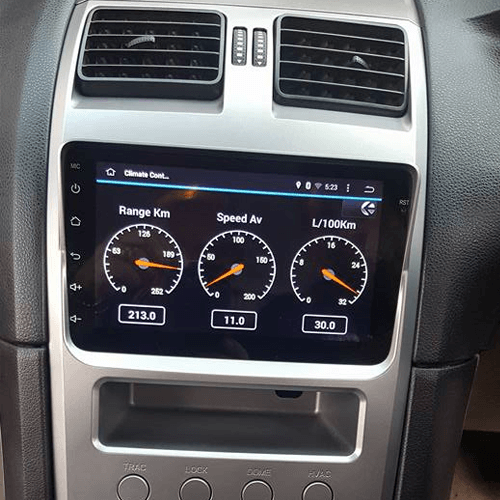Ford BA-BF Territory Android ICC-Silver