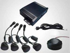Rubber Reverse Parking Sensors Suit Steel Rear Bumper