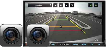 reversing dual-camera