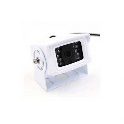 Square White Reversing Camera