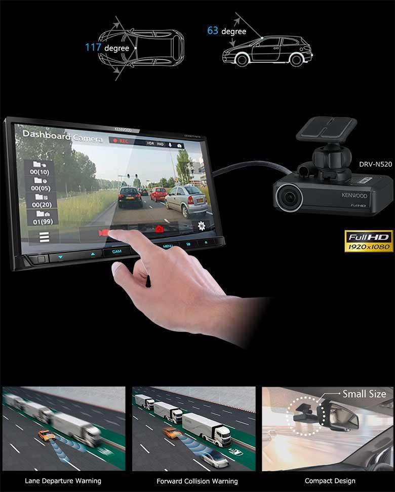 Dash-camera Linkage