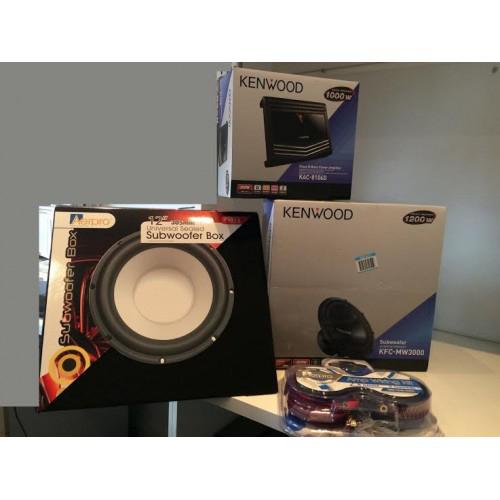 Kenwood-Subwoofer-Complete-Package