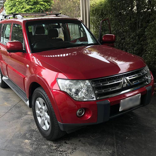 Mitsubishi Pajero Onsite Car Audio Installation