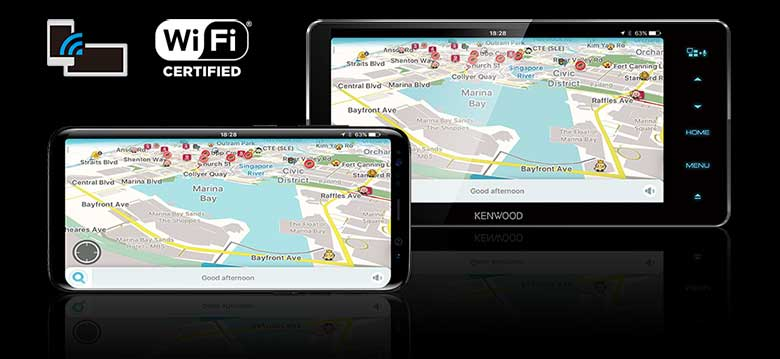 Smartphone Air Mirroring over Wi-Fi