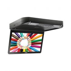 Axis 13.3 Inch Slimline Roof Mount HD Monitor Player System with Built-In DVD-CD Player