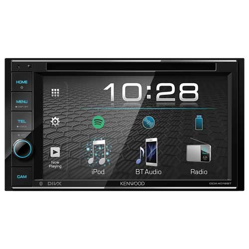 """Kenwood DDX4019BT 6.2"""" WVGA DVD-Receiver with Bluetooth Built-in."""
