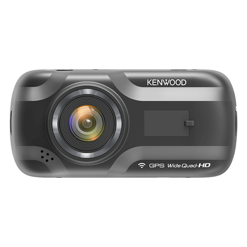 Kenwood DRV-A501W 2560x1440 Wide Quad HD Dash Cam with Built-In Wireless Link & GPS
