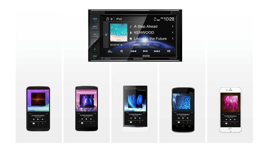 Kenwood Music Mix - High Quality Music streaming x 5 devices