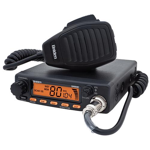UNIDEN UH5040 5W COMPACT UHF RADIO