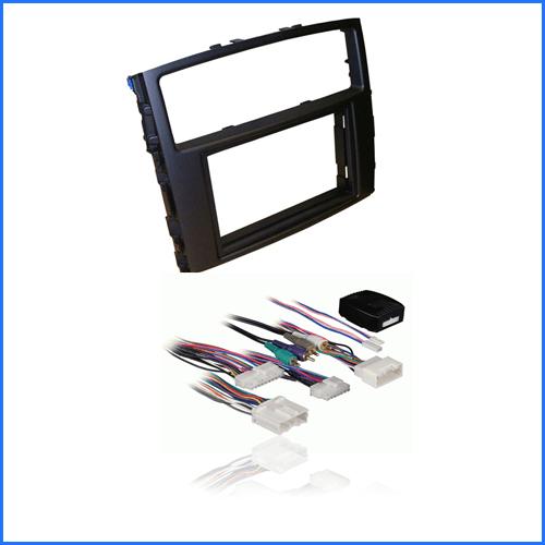Mitsubishi Pajero 2014-Onwards (NS-NT-NW) Rockford Amplifier Interface-fascia kit