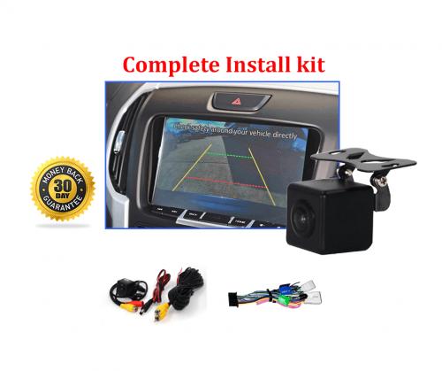Reverse Camera Kit Integration to suit Isuzu MU-X OEM Factory Screen 2013 to 2019