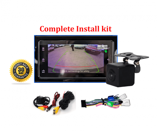 Reverse Camera Kit to suit Mitsubishi Pajero (NT-NX) OEM Factory Screen 2015 to 2019