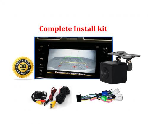 Reverse Camera Kit to suit Subaru XV (GJ-GP) OEM Factory Screen 2015 to 2016