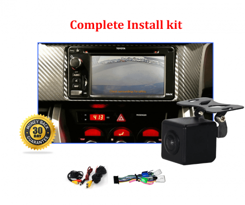 Reverse Camera NTSC Integration Kit to suit Toyota 86 Factory Screen 2012 to 2017