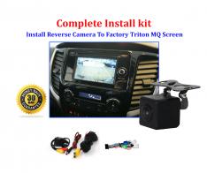 Reverse Camera NTSC Kit to suit Mitsubishi Triton MQ OEM Factory Screen 2016 to 2019