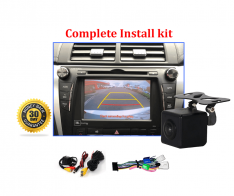 Reverse Camera NTSC Kit to suit Toyota Aurion OEM Factory Screen 2015 to 2018