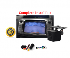 Reverse Camera NTSC Kit to suit Toyota Hilux Factory Screen 2014 Workmate SR & SR5