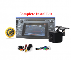 Reverse Camera NTSC Kit to suit Toyota Kluger OEM Factory Screen 2014 to 2019