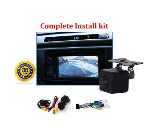 Reverse Camera NTSC Kit to suit Toyota RAV4 OEM Factory Screen 2013 to 2018