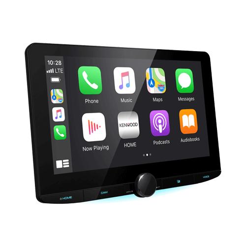 Kenwood DMX9720XDS HD Display 10.1 inch Floating Multimedia Apple CarPlay Android Auto DAB