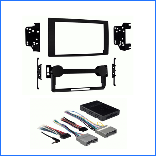 Jeep Grand Cherokee 2005-2008 WH Head Unit Installation Kit AMPLIFIED