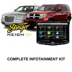 Chrysler Dodge Jeep Stinger HEIGH10 Infotainment Kit