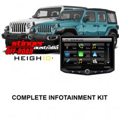 JEEP Gladiator/Wrangler Stinger HEIGH10 Infotainment Kit