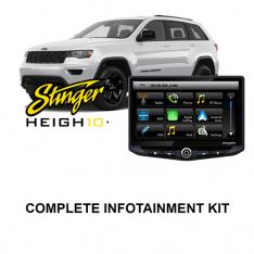 JEEP Grand Cherokee 2014-2020 WK2 Stinger HEIGH10 Infotainment Kit