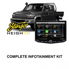 Toyota Landcruiser 70-79 Series Stinger HEIGH10 Infotainment Kit