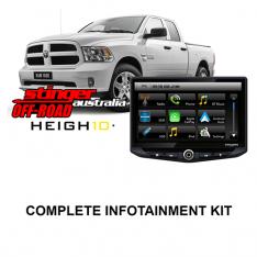Dodge Ram Truck 2013-2020 4TH GEN Stinger HEIGH10 Infotainment Kit