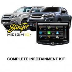 Isuzu D-MAX / MUX Stinger HEIGH10 Infotainment Kit