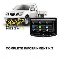 Nissan Navara 2015-2019 D23-NP300 RX-DX Stinger HEIGH10 Infotainment Kit