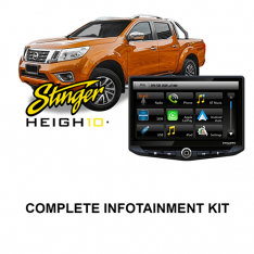 Nissan Navara 2015-2019 D23-NP300 ST-STX-SL Stinger HEIGH10 Infotainment Kit