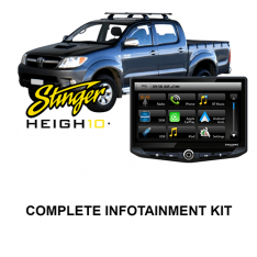 Toyota Hilux 2013-2015 Stinger HEIGH10 Infotainment Kit
